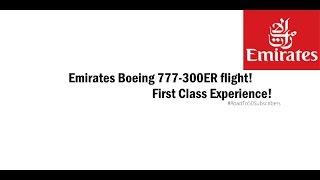 ROBLOX | Emirates Boeing 777-300ER flight!
