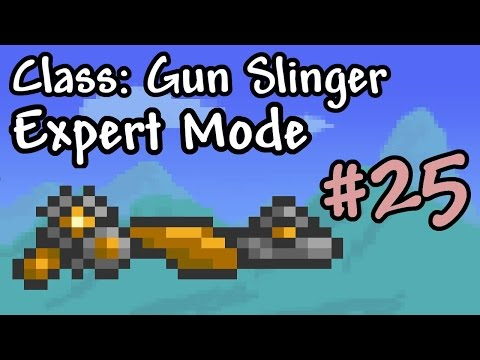 Expert Mode Terraria || Gun Slinger: Clockwork || Episode 25