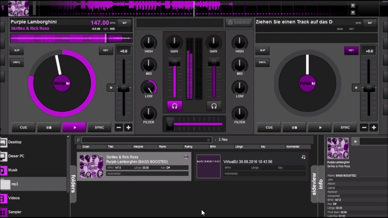 Skrillex Rick Ross Purple Lamborghini Bass Boost Youtube