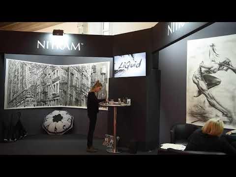 Nitram Charcoal at Creative World Frankfurt 2019