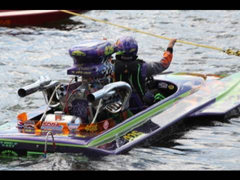 Drag Boats with Big Raw Sounds 2009