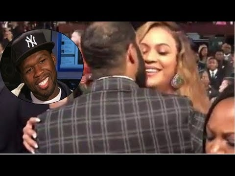 50 CENT Reacts To GHOST KISSING BEYONCE In Front JAY-Z
