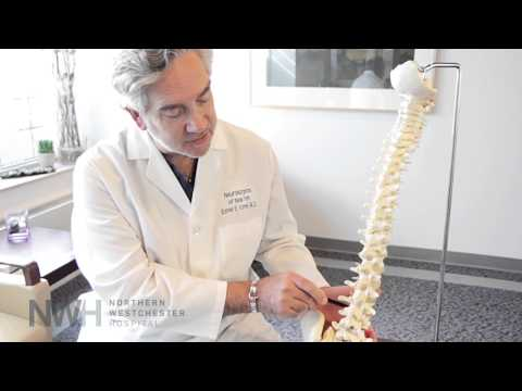 Dr. Ezriel Kornel, Director at Large at the Orthopedic and Spine Institute at Northern Westchester Hospital, describes the procedure for minimally invasive surgery of the cervical spine.