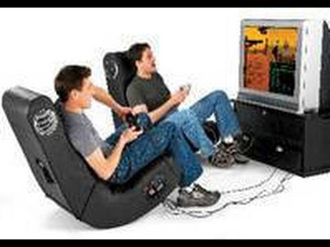 recliner gaming chair office tables and chairs in hyderabad how to set up an x rocker - youtube