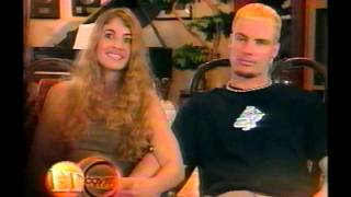 Vanilla Ice & Wife on Entertainment Tonight 2002
