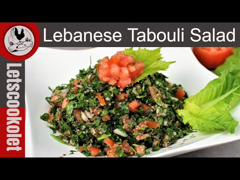 The Original Tabbouleh Salad \ Tabouli