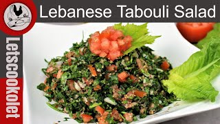 The Original Tabbouleh Salad \ Tabouli