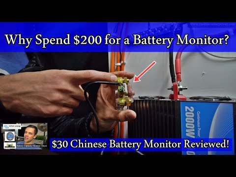 $200 Victron Solar Battery Monitor? Try this $30 Chinese one instead! Great for Off-grid Solar
