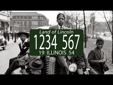 History of the Illinois license plate