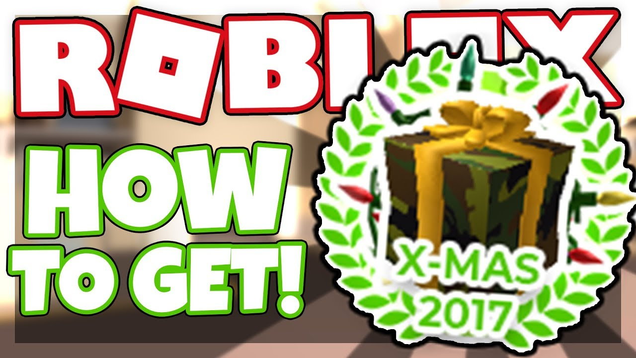 how to get the christmas 2017 badge candy cane weapon roblox military warfare tycoon