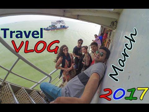 Travel Vlog   Gopalganj   Sundarban   Bagerhut    Boat Rideing   at Bangladesh 2017
