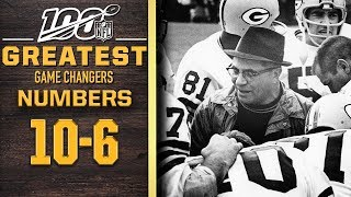 100 Greatest Game Changers: Numbers 10-6 | NFL 100