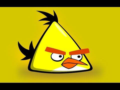 Inkscape Tutorial : Drawing a Yellow Angry Bird