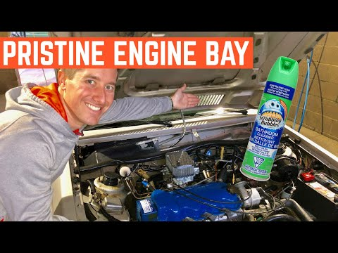 Is Scrubbing Bubbles The BEST Engine Cleaner? Let's TEST It On My Ford EXP