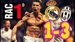 AUDIO RAC1 | REAL MADRID 1-3 JUVENTUS | COMPLETO