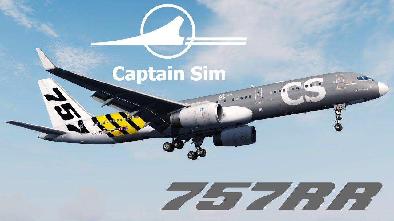 Captain Sim 757-2RR Expansion | P3D v4