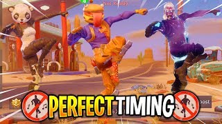 Fortnite - Perfect Timing Compilation #14 (Dance Emotes At The Same Time)