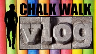 Chalk Walk - ART EVENT (Art Vlog)