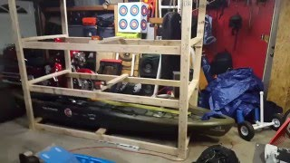 DIY Kayak Storage