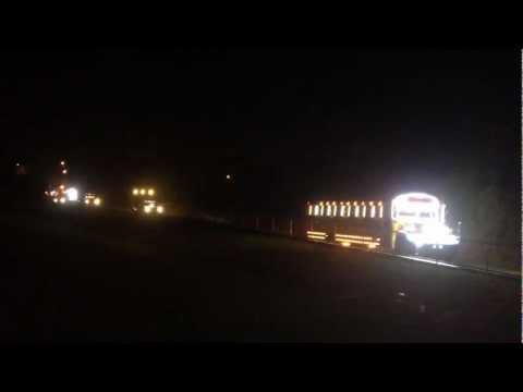 Caravana de Navidad 2012, auspiciada por Amado Bus Line