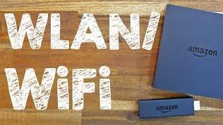 WLAN: Amazon FireTV (Stick) per WiFi kabellos mit dem Internet verbinden, auf Deutsch