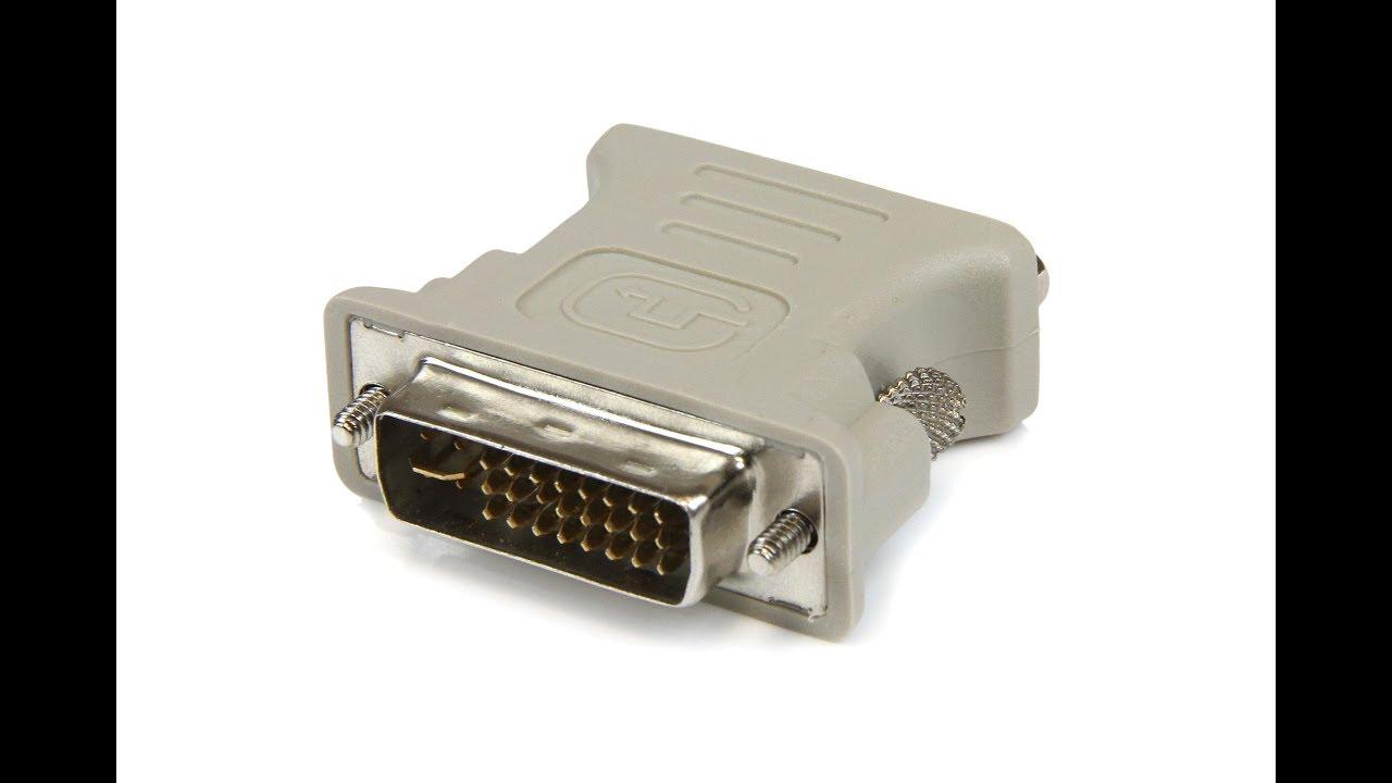 DVI-I Male Analog 24 5 to VGA Female Connector Adapter ECACB .