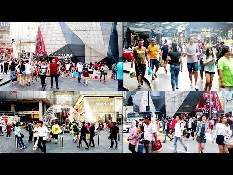 Malaysia Kuala Lumpur street life 2018 (KLCC) (Bukit Bintang)