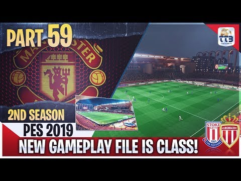 [TTB] PES 2019 - NEW GAMEPLAY FILE IS CLASS! - Man United Master League #59 (Realistic Mods)