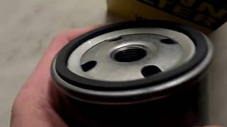Масляный фильтр MANN FILTER W712/75