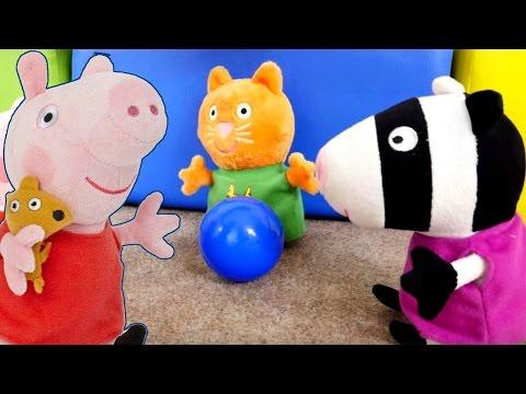 Свинка Пеппа мультики для детей. ЗАВТРАК 2016 для игрушек! Развивающее видео для детей
