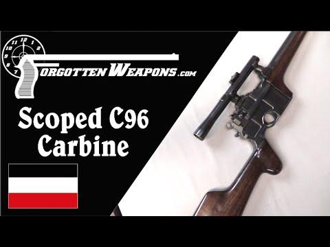 "Scoped C96 ""Broomhandle"" Sporting Carbine"
