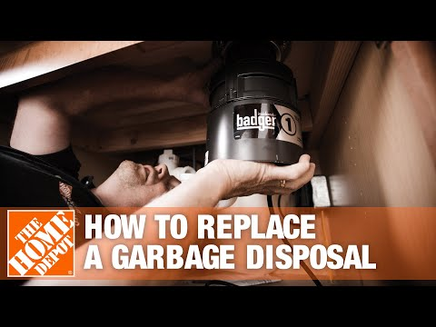 How to Replace a Garbage Disposal | The Home Depot