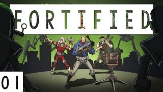 Fortified Gameplay - #01 - Third Person Shooter Defense! - Let