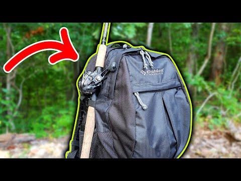 You NEED A Fishing Backpack Like This! (Plano Storage Box Setup)