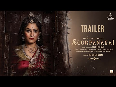 Soorpanagai - Official Trailer   Tamil   Regina Cassandra   Akshara Gowda   Sam CS   Caarthick Raju
