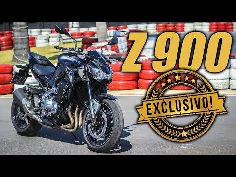 Lançamento Kawasaki Z900 - MOTO.com.br