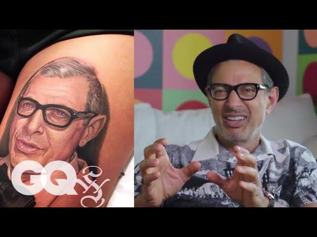 jeff-goldblum-critiques-jeff-goldblum-tattoos-tattoo-tour-gq