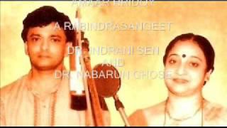 Amaar Hridoy -- A Rabindrasangeet, Dr. Indrani Sen and Dr. Nabarun Ghose