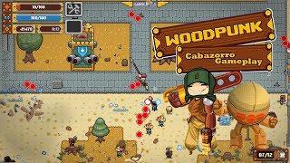 [Woodpunk] Un roguelite desafiante con mucha acción [Indie con mucha madera]