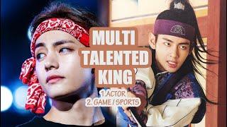 Kim Taehyung (BTS V)  Multitalented King