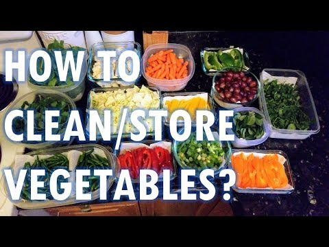 How To Clean/Store Vegetables? | Hindi & English | Poonam Rao Rajgor