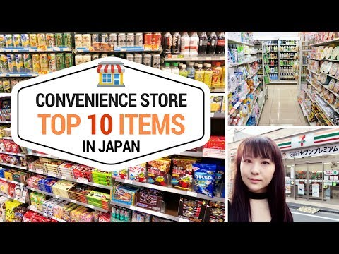 Top 10 Things to Buy at Japanese Convenience Stores | JAPAN SHOPPING GUIDE