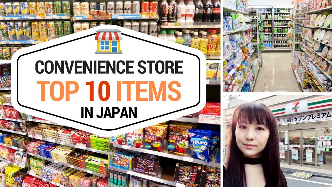 Top 10 Things To Buy At Japanese Convenience Stores
