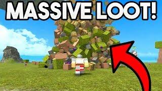 MASSIVE LOOT UNBOXING! | ROBLOX: Booga Booga