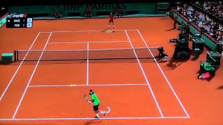 Top Spin 4 Gameplay Nadal V/S Federer(AI : Very Hard) (PS3) (Roland Garros) [Full HD]