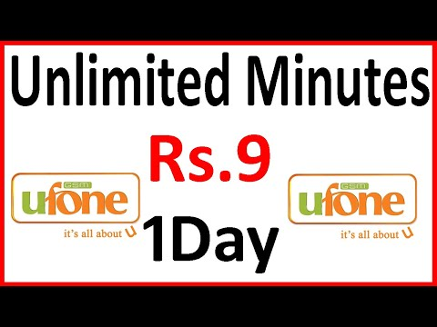 Ufone Call Package 1 Day 2020