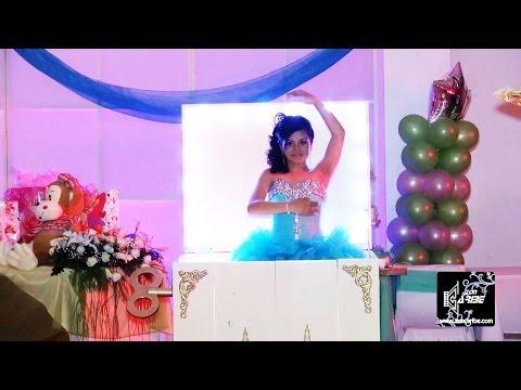 XV Años Michelle Vals Alegría Academia de Baile Moderno Studio Perfiles Videofilmaciones Zon Caribe