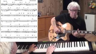 Temptation - Jazz guitar & piano cover ( Nacio Herb Brown )