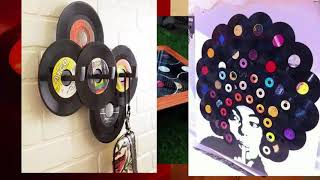 50  Vinly Record Craft Ideas | Interior Design Ideas With Vinly Record | Reycled Diy Ideas