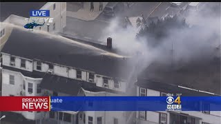 Baixar Multiple Explosions, Fires In Lawrence After Reported Gas Line Problem